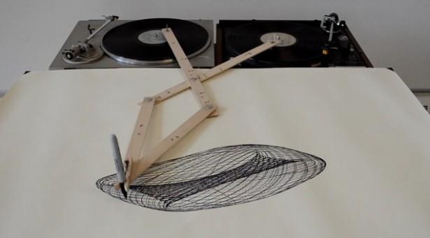 Tekenen met draaitafels