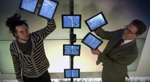 Magie met iPads