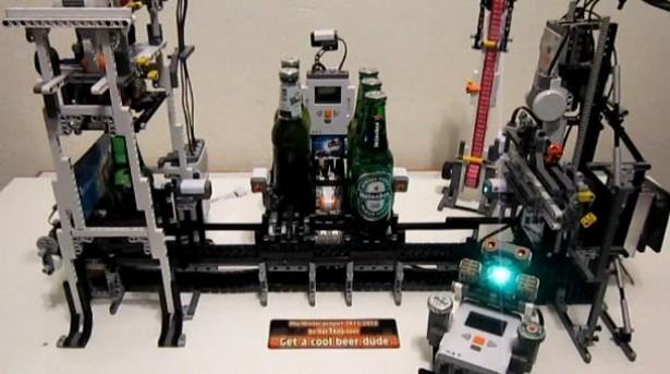 Lego Beer Machine