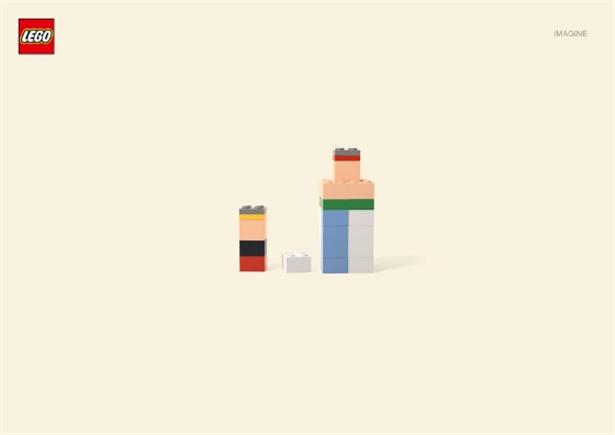Minimalistische Lego-karakters zijn heel herkenbaar
