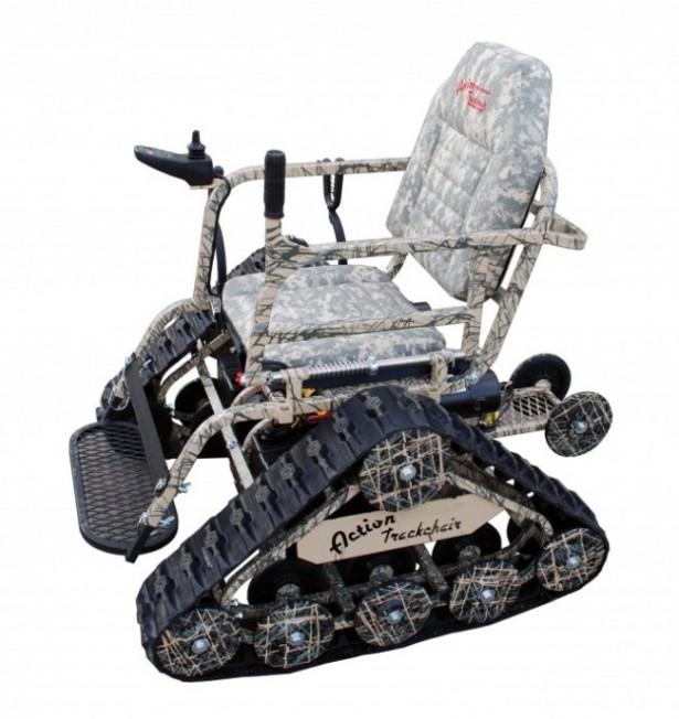 De stoerste rolstoel ter wereld