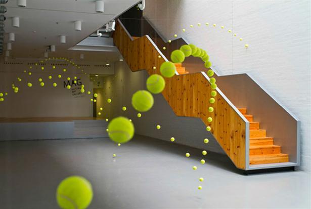 Kunst Met Tennisballen Freshgadgets Nl