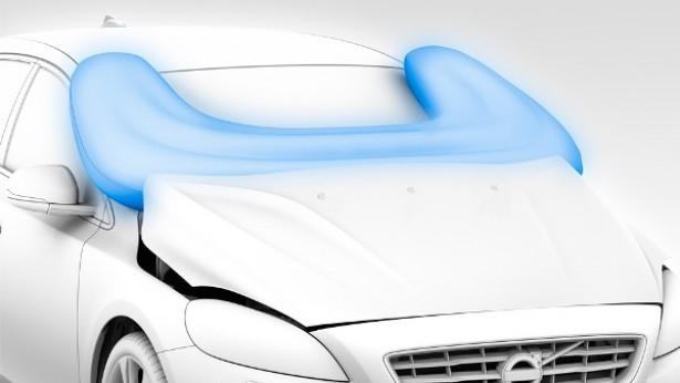 Nieuwe Volvo heeft externe airbag
