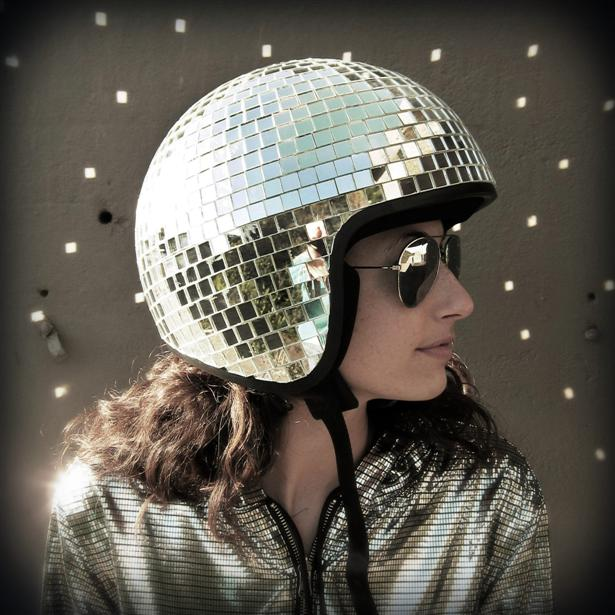 DIY: disco-helm