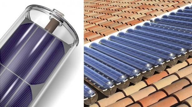 Hybride zonnepanelen warmen water op