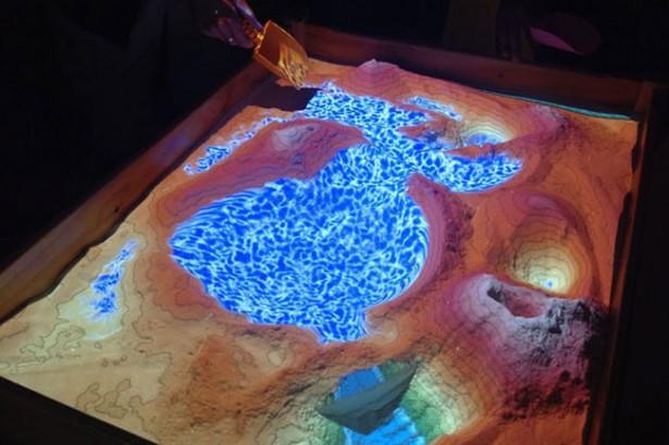 Augmented reality zandbak