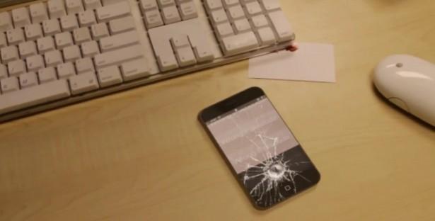iPhone 5 maakt zichzelf kapot