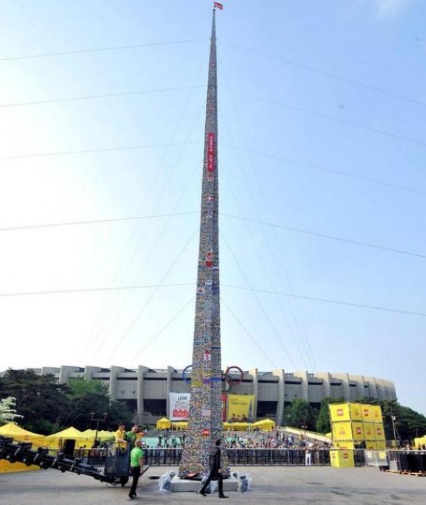 's Werelds hoogste Lego-toren