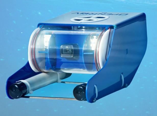 Afstandsbestuurbare mini-onderzeeboot