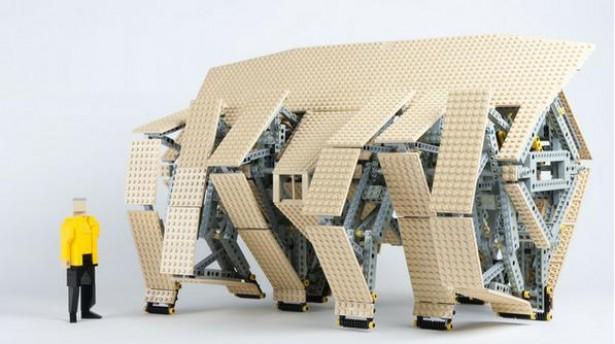 Strandbeesten van Lego