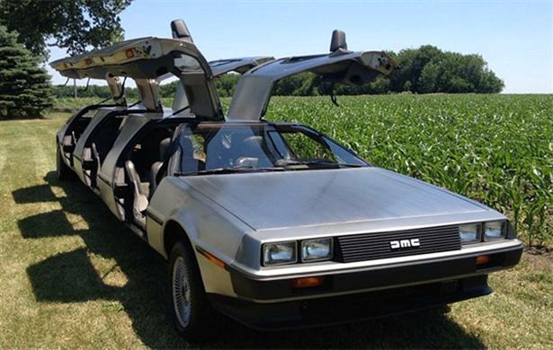 DeLorean limousine