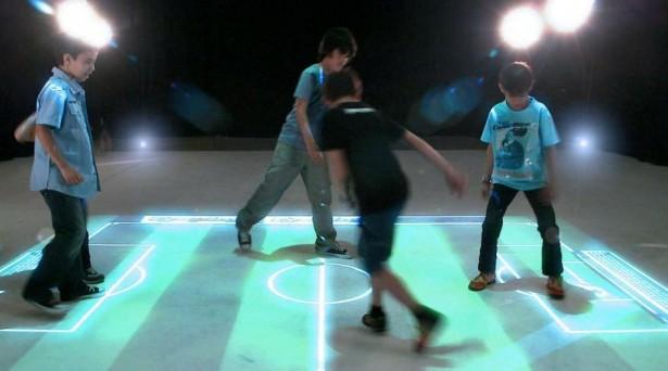 EyePlay: sporten op een virtueel veld