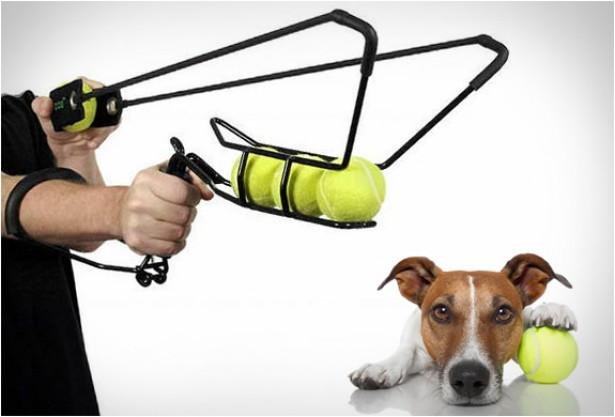 HyperDog katapult voor tennisballen