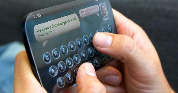 Fysiek toetsenbord op touchscreens