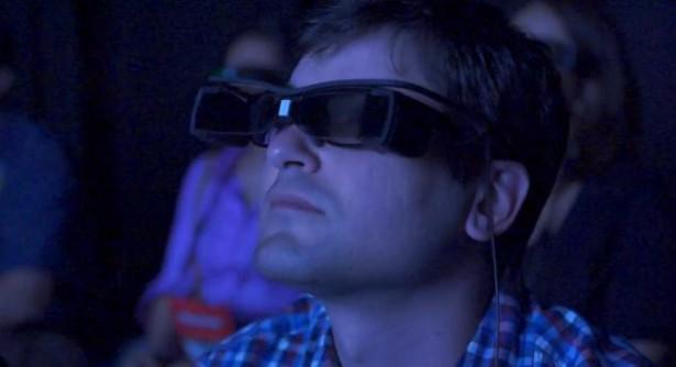 Bril van Sony projecteert ondertiteling