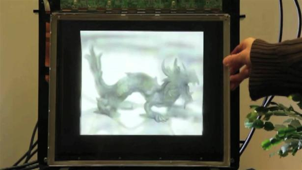 Holografisch 3D display