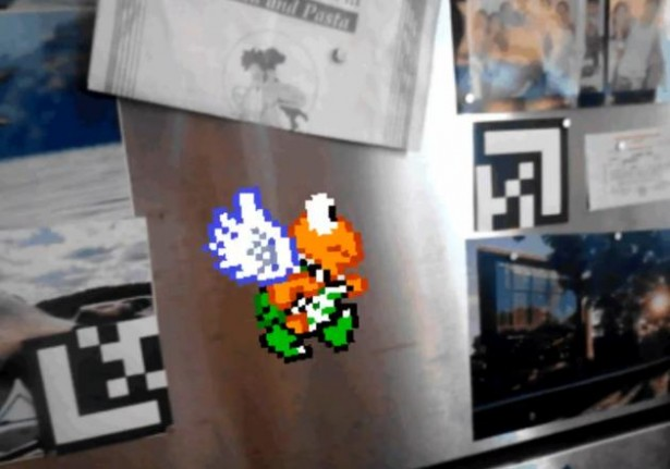 LZRTAG: augmented reality graffiti
