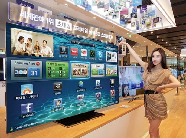's Werelds grootste OLED-televisie