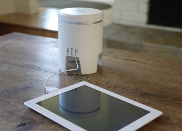 POP laadt gadgets op met 25.000 mAh