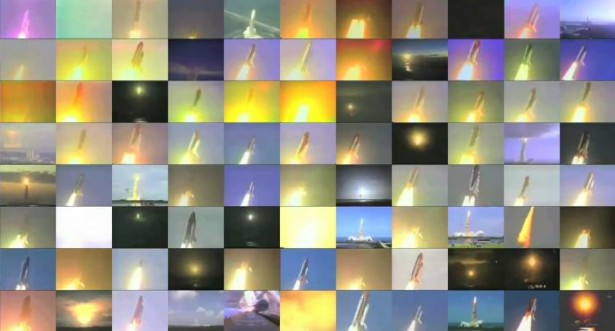 Alle 135 Space Shuttle lanceringen tegelijk