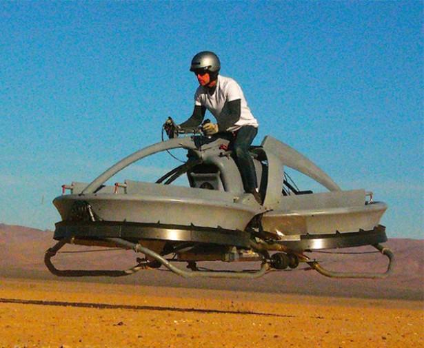 Een persoonlijke hovercraft