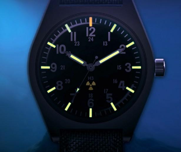 Dit horloge werkt op kernenergie