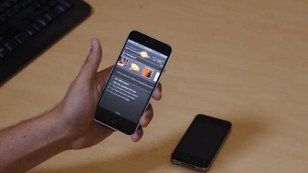 iPhone 5 concept met magische functies