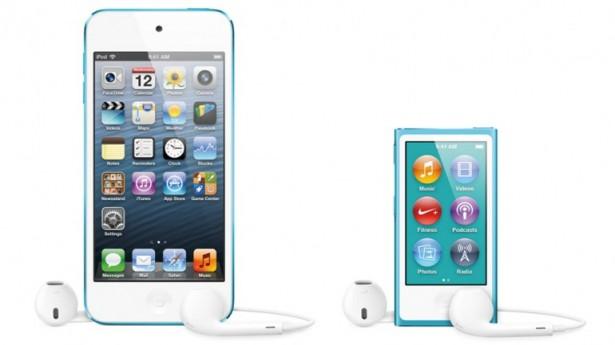 De nieuwe iPod Nano en iPod Touch