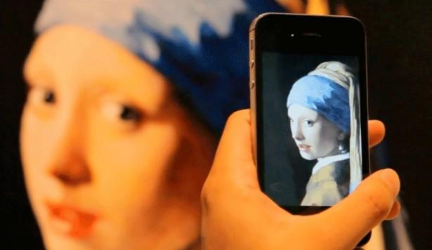 Augmented reality wekt beroemde kunstwerken tot leven