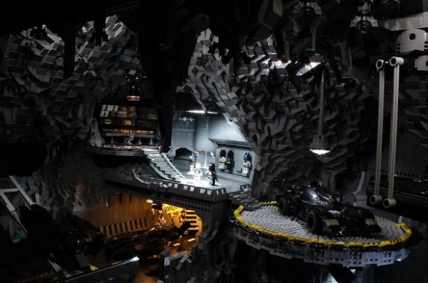 Een Batcave van Lego