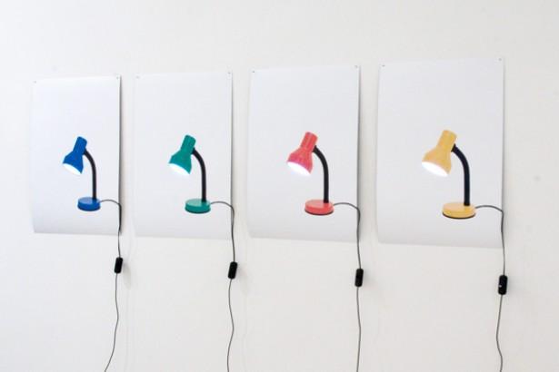 Functionele posters maken geluid en geven licht