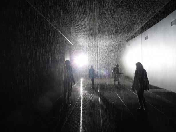 3D-camera's houden je droog in deze kamer vol regen
