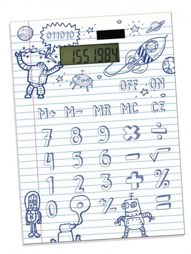 Teken je eigen knoppen op deze rekenmachine