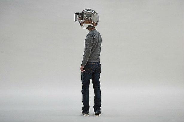 Met deze helm ervaar je de wereld in slow-motion