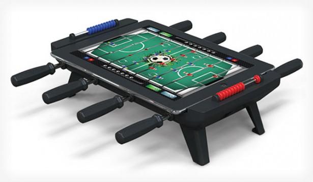 Maak van je iPad een voetbaltafel