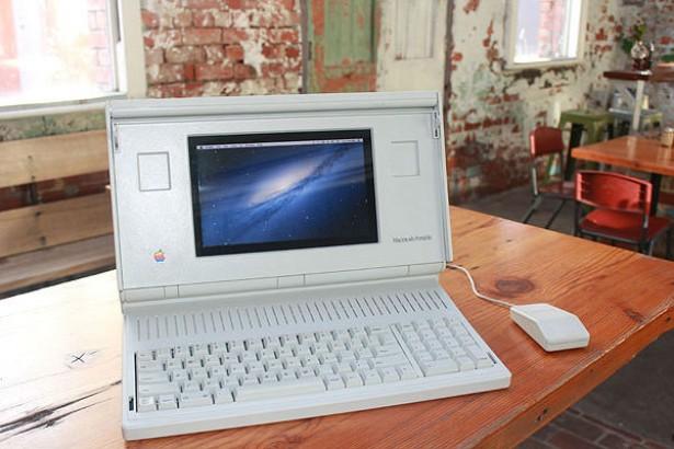 Een Macintosh Portable met OS X