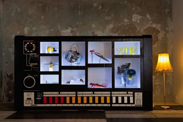 MR-808: de mechanische drumcomputer