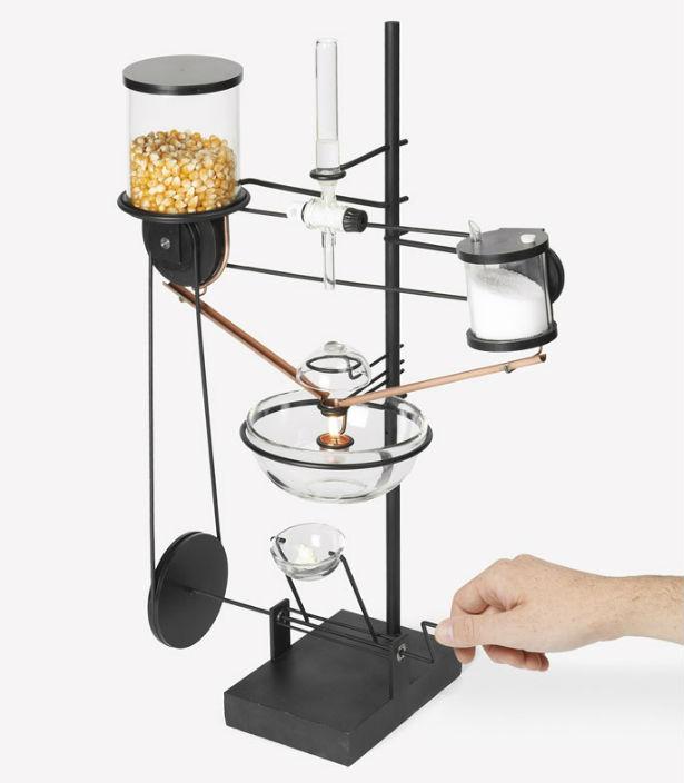 De onhandigste popcorn-machine ooit