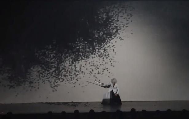 Projection mapping en dans