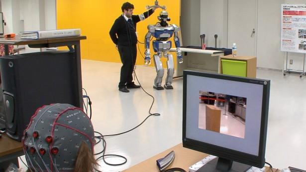 Deze robot bestuur je met je hersenen
