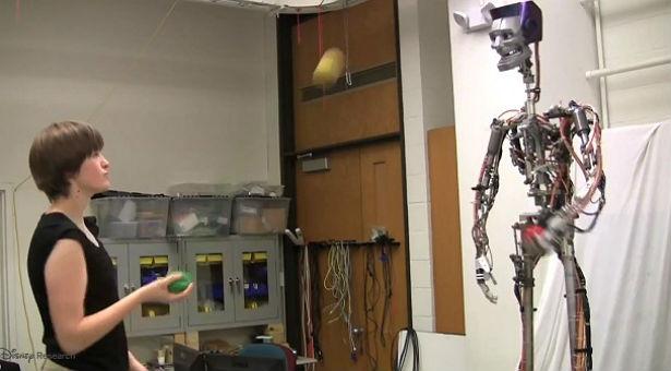 Een robot om mee te jongleren