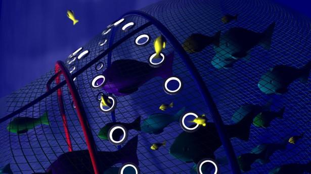 Visnet met verlichting voorkomt overbevissing