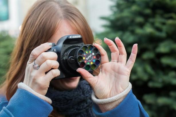 Maak kleurrijke foto's met deze DSLR-filters