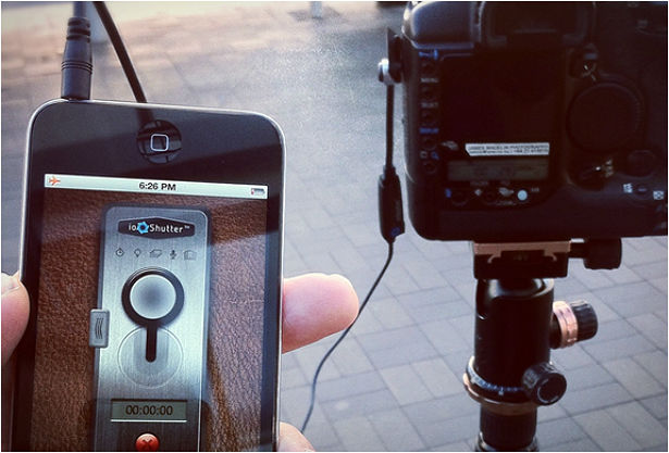 ioShutter: iPhone als camera-afstandsbediening
