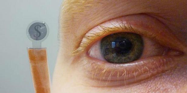 Wetenschappers ontwikkelen contactlens met display