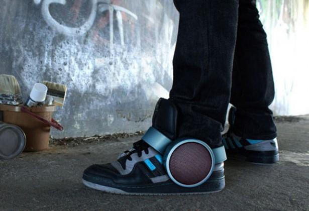 Sneaker Speakers: speakers voor om je schoenen