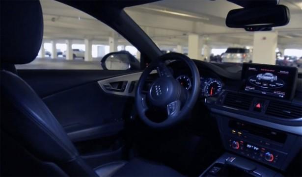 De Audi's van de toekomst parkeren zichzelf