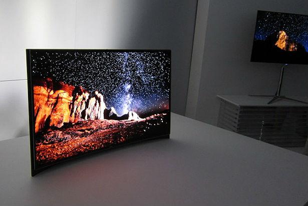 LG en Samsung onthullen gebogen televisie's