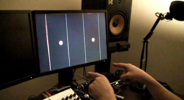 Leap sensor verandert computer in harp