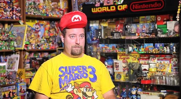 's Werelds grootste collectie van Nintendo memorabilia